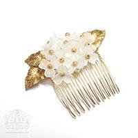 White Hydrangea Comb