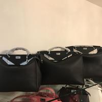 即納❣️ミラー目のバッグ42cm