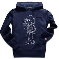 THE OVERLOOK CHILD HOODY/NAVY