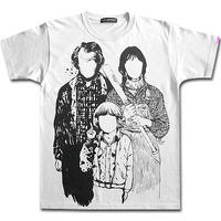 【XXLサイズ追加!】THE FAMILY TRINITY T-SHIRTS/White