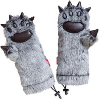 THE WOLF MAN MITTEN GLOVE