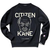 不朽の名作映画『市民ケーン』より CITIZEN KANE -THE REBEL FACE- SWEAT SHIRTS