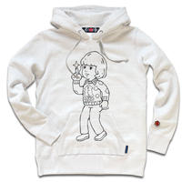 THE OVERLOOK CHILD HOODY/Of White