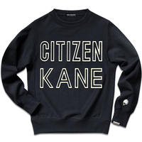 CITIZEN KANE SWEAT SHIRTS/Black