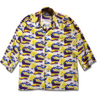 2015 FLYING FUTURE TRAIN ALOHA SHIRTS