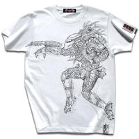 【映画プレデター×JETLINK】PREDATOR HUNTING T-SHIRTS/White