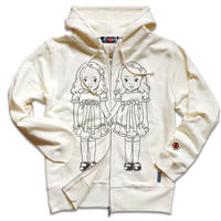 THE OVERLOOK TWINS ZIPUP HOODY