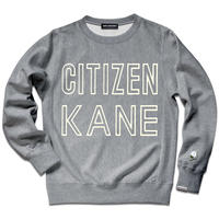 CITIZEN KANE SWEAT SHIRTS/Gray