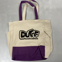 【DUFF】ツートン トートバッグ 【全4色】