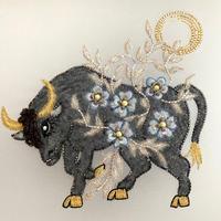 Bull Fighting (図案プリントあり)