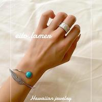 stone feather bracelet 3colour