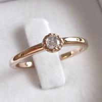 7万円の婚約指輪(エンゲージリング)