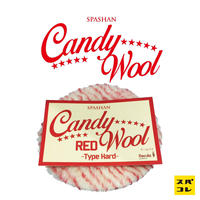 【SPASHAN】Candy Wool RED -Type Hard-