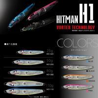 HITMANヒットマンジグ ルアー【H01】ブラック(110g) H01K46BB110 eltg-188