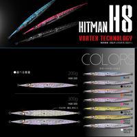 HITMANヒットマンジグ ルアー【H08】ブルー(200g) H08K103MB200 eltg-283