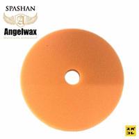 【SPASHAN】ANGEL WAX 150mm ミドルスポンジオレンジ スパシャン エンジェルワックス コーティング