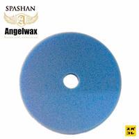 スパシャン SPASHAN ANGEL WAX 150mm セミミドルスポンジ青 スパシャン エンジェルワックス コーティング 洗車