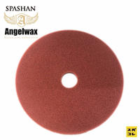 スパシャン SPASHAN ANGEL WAX 150mm ハードスポンジ赤 スパシャン エンジェルワックス コーティング 洗車