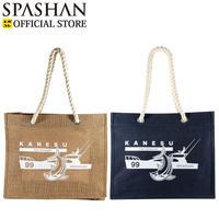 カネス商店 麻バッグ SPASHAN号デザイン 防水加工 ロープハンドル ユニセックス
