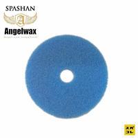 スパシャン SPASHAN ANGEL WAX 75mm セミミドルスポンジ青 スパシャン エンジェルワックス コーティング
