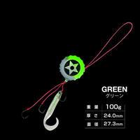 HITMAN ヒットボールセット 100g グリーン eltg-036
