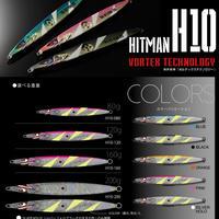 HITMANヒットマンジグ ルアー【H10】ブルー(80g) H10701SMB80 eltg-303
