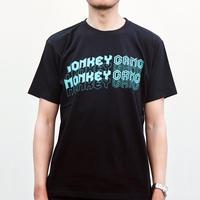 MONKEY GANG 80年代エレクトロ デザイン Tシャツ ブラック M~XXL アパレル メンズ レディース