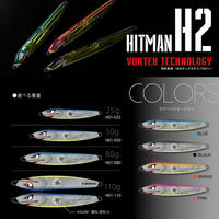 HITMANヒットマンジグ ルアー【H02】ブラック(70g) H02713GBB70 eltg-195