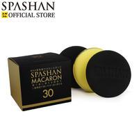 スパシャン SPASHAN スポンジマカロン 3個入り  贅沢な二重構造で使い心地抜群!!◆カーワックスやコーティング塗布に◆