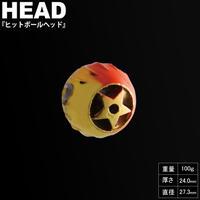 HITMAN ヒットボールヘッド 100g ゴールド eltg-063