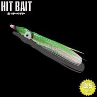 HITMANヒットベイト ラメグリーン(3.5inch) 1パック6本入り HB35-710 eltg-141
