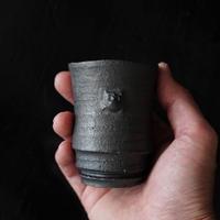 濱中史朗 NO.99  スカル陶器カップ