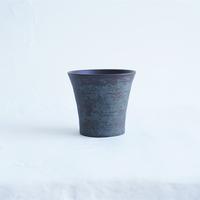 59-1 渋谷英一 「地ノ器 フリーカップ 青 」