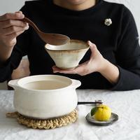 仲岡信人 彩色灰釉鉢 茶 B