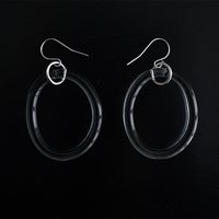 №40  BELLEZA Glass Jewelry  yuragiピアス