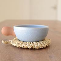 池本直子 耐熱土鍋スープ用(水色)
