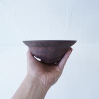 24-4 渋谷英一 「地ノ器 茶 リム鉢 」