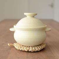 池本直子 耐熱土鍋(黄 1.5合)