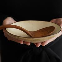 垣野勝司 生成り楕円鉢