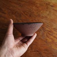 渋谷英一 地ノ器 ご飯茶碗 平 茶(NO.104)