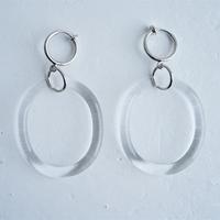 №41  BELLEZA Glass Jewelry  yuragiイヤリング