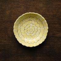25.田中ちあき 練り上げたんぽぽ豆皿