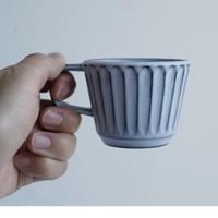 N▶400 エヌ・ヨンヒャク No.22 しのぎカップ gray