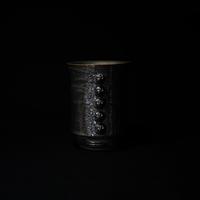 濱中史朗 NO.134 灰黒レーススカルカップ