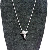 ミクロ エンジェル ネックレス シルバー micro angel necklace SILVER hiphop street 海外 セレブ tyga t.i asap rickross