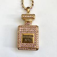 オリジナル ネックレス CHANEL シャネル モチーフ ネックレス  ピンクゴールド ノーマルサイズ
