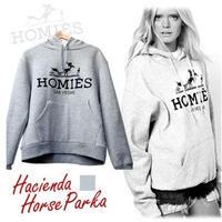The Hacienda Horse プリントパーカー