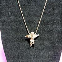 ミクロエンジェルネックレス ゴールド micro angel necklace GOLD 海外 セレブ アーティスト hiphop street tyga t.i asap rickross