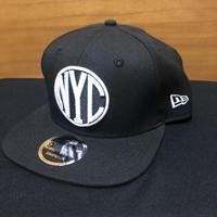 New Era NYC 9FIFTY Original Fit Snapback Black/White -