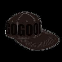 GoGoodロングブリムキャップ